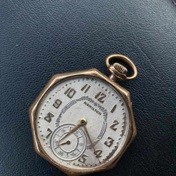 Hamilton Other - Hamilton 17j 12s Pocket Watch